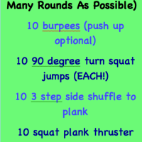 20 Minute Bodyweight HIIT Burn